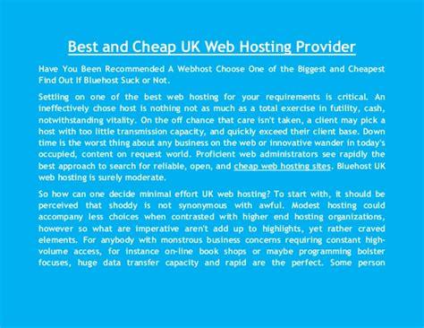 Hosting Provider What Is The Best Web Hosting Provider Uk Hosting Sla Template