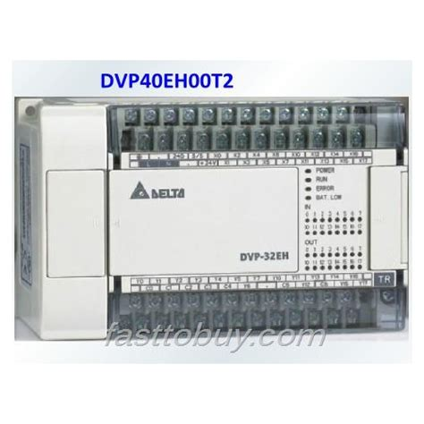 delta plc eh series dvpeht  point  channel khz