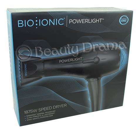 Bio Ionic Nano Hair Dryer bio ionic powerlight nano ionic 1875w speed hair pro