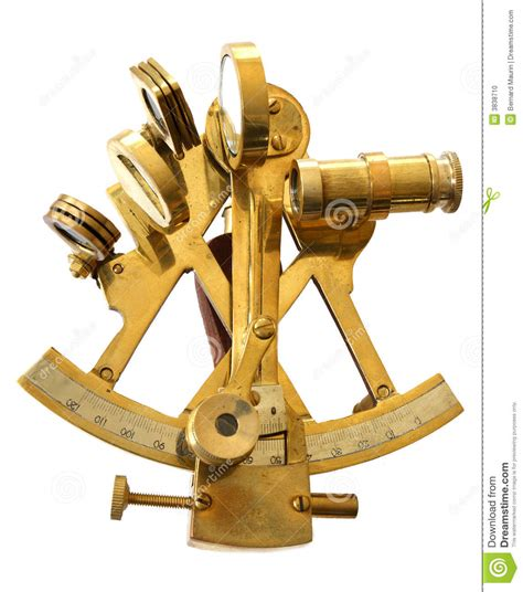 sextant inventor sextant stock photo image 3838710