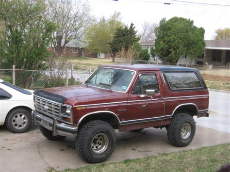 1982 Ford Bronco by Jetblackedge 1982 Ford Bronco Specs Photos Modification