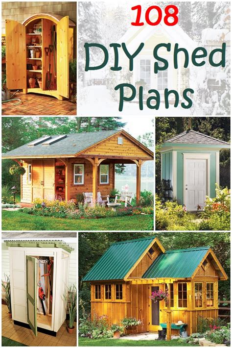 Can You A In Your Backyard by 108 Diy Shed Plans Ideas That You Can Actually Build In