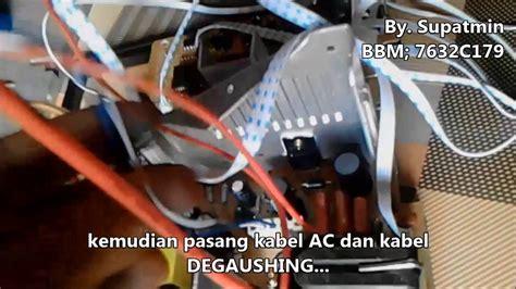 Mesin Tv Wansonic Tv Mengganti Mesin Tv Tcl 29 Dengan Mesin Wansonic 29