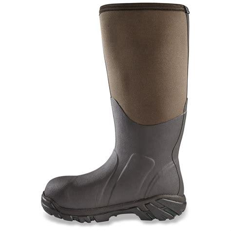 rubber boot liners fleece muck boot men s artic pro waterproof hunting boots fleece