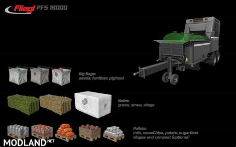Fliegl Pallet Filling System v 1.0.0.2 mod Farming