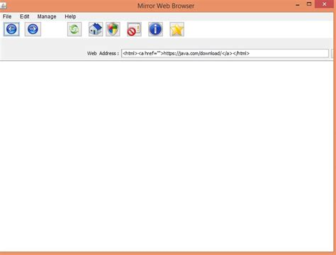 java swing web browser swingx how open a link in java swing with help of mini