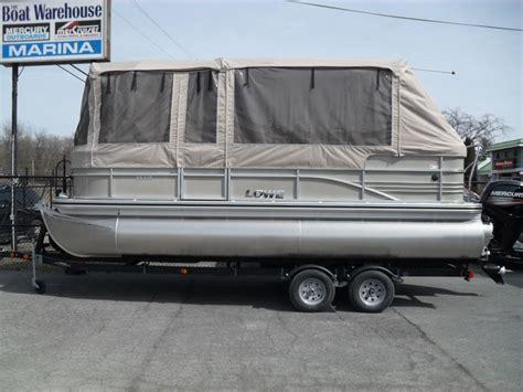 lowe pontoon boat mooring cover lowe boats ss210 mercury 115hp trailer full enclosure tri