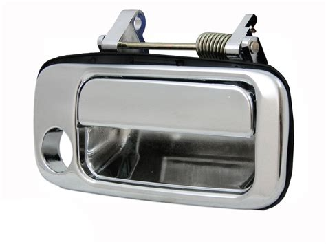 Toyota Calya Outer Handle Chrome Jsl toyota 80 series landcruiser outer chrome door handle right rhs front 90 97 aftermarket