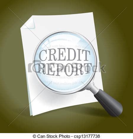 doodle free credit report vectors of examining a credit report taking a look at a