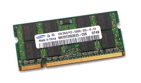 Ram Ddr2 Sodimm 4gb kit of 4 x m470t2953ez3 ce6 samsung 1gb pc2 5300s ddr2 sodimm ram ebay
