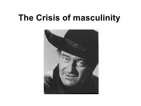 Masculinity In Crisis Essay by Hegemonic Masculinity Slideshare Foto