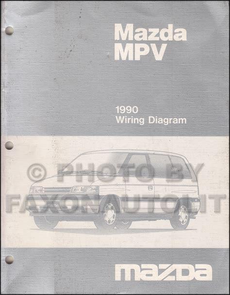 service manuals schematics 1990 mazda mpv head up display mazda