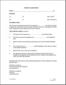 Template For Contractor Agreement contractor agreement template best letter examples