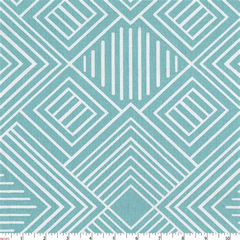 geometric pattern material coastal blue geometric fabric by the yard blue fabric