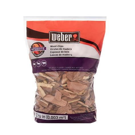 weber mesquite wood chips 17149 the home depot