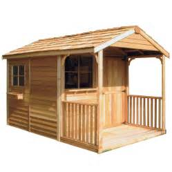 shop cedarshed clubhouse gable cedar wood storage shed