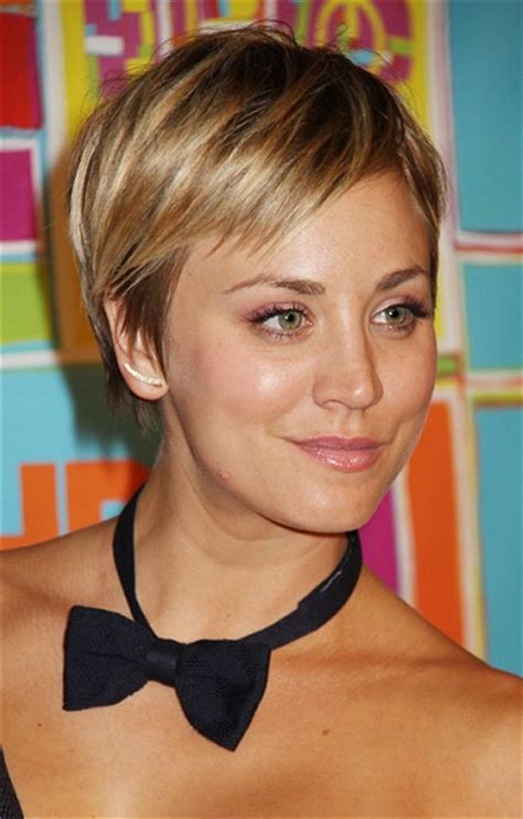 kaley cuoco haircut 2014 super short chic hairstyles for women sophisticated