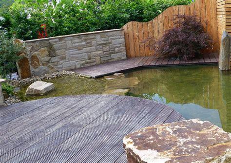 Ideen F 252 R Den Garten Wasserterrasse Tropenholz