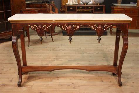 console in legno console in legno mobile tavolo stile antico consolle piano