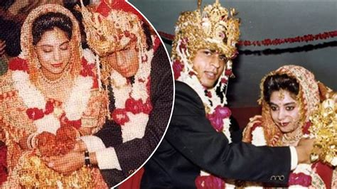 shah rukh khan and gauri khan wedding photo album