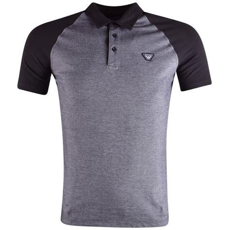 Kaosbajut Shirt Armani 2 emporio armani emporio armani navy contrast polo shirt from brother2brother uk