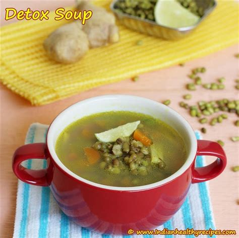 Ayurvedic Detox Soup by Mung Bean Detox Soup Easy Detox Soup Recipe