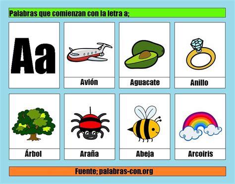 imagenes que empiecen con la letra fr palabras con a alfabeto abecedario pinterest