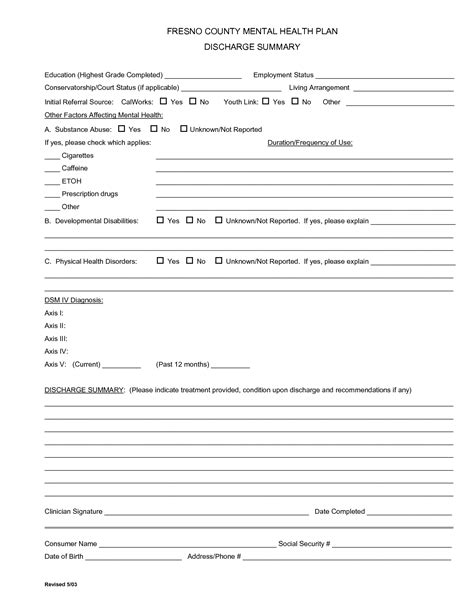 discharge summary template 28 images discharge summary
