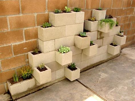 Decorative Bricks Home Depot by 20 Creative Uses Of Concrete Blocks In Your Home And Garden