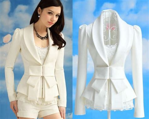 Vest Coat Bolero Cardigan Blazer Rompi Kerja Kantor Korea Import 4 dress korean fashion