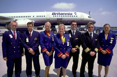 Thompson Cabin Crew by Style For Britannia Airways Now Thomsonfly