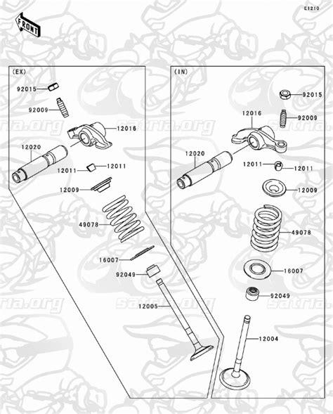 valve s dtracker 150s satria kirana motor skm