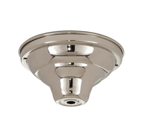 Ceiling Light Canopy Parts Nickel Fixture Canopy 5 1 4 Dia 11830n B P L Supply