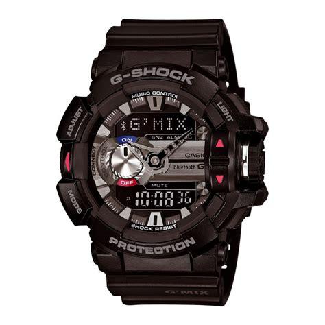 les montres g shock g mix gba 400 ont une connexion bluetooth 4 0