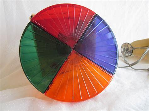 Colortone Roto Wheel Snapit Vintage Aluminum Tree Light 4 Aluminum Tree With Color Wheel Light
