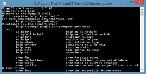 mongo console instalar mongodb en windows victor robles victor robles