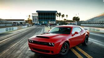 The Dodge Dodge Unveils One Seat 840 Horsepower Car Apr 11