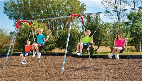 playground swing sets deluxe tripod swing sets gopher sport