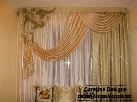 curtains and drapes design ideas embossed curtain designs and draperies for bedroom luxury