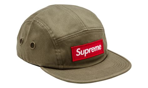 supreme 5 panel supreme 5 panel olive cer hat fw 16 wear official