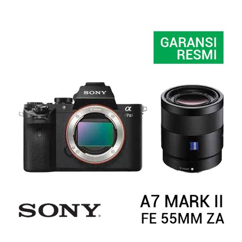 Sony Fe 55mm F 1 8 Za Lensa Kamera sony a7 ii kit fe 55mm f 1 8 za harga dan spesifikasi