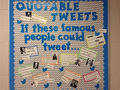 teen bulletin board tweetable quotes   famous people  tweet mlk kid president