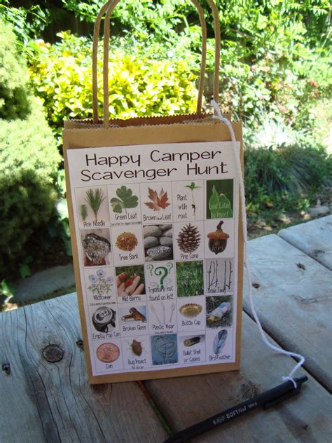 idea hunt printable woodland scavenger hunt cards great idea for