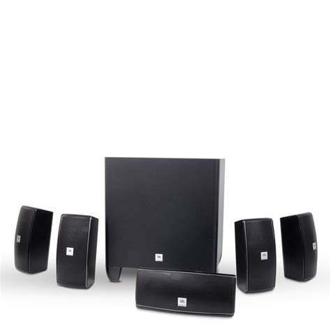 cinema 610 5 1 home theater speaker system with powered