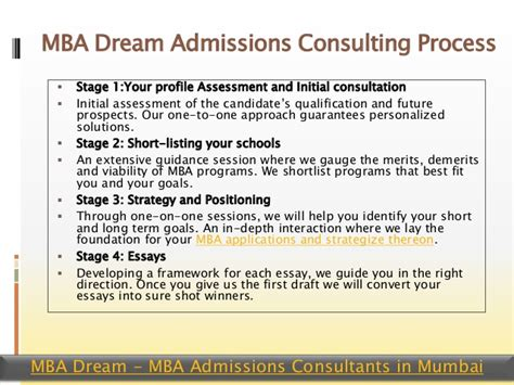 Initial Consultanton Mba by Best Mba Admission Consultants For Top B School With Gmat