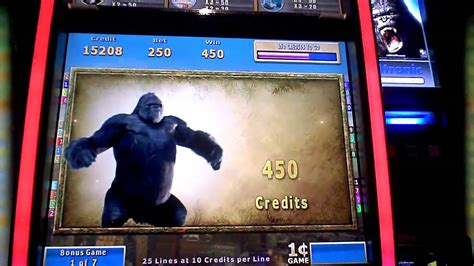 king kong cash  atronic slot machine bonus win youtube