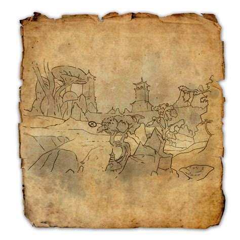 stonefalls treasure map stonefalls treasure map iv elder scrolls wiki