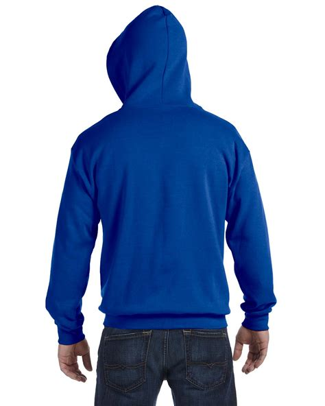Royal Blue Hodie Rajut gildan s ribbed drawstring heavy blend zip hoodie s xl r g186 ebay