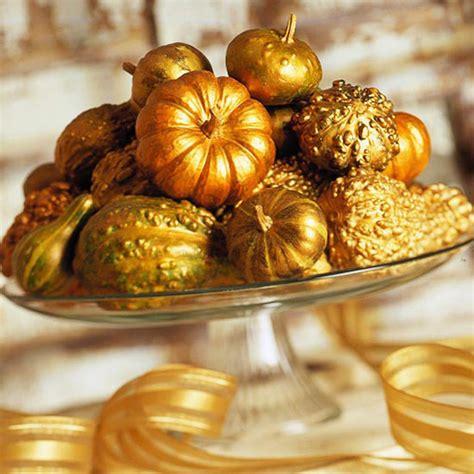 gold pumpkin centerpieces 20 centerpieces for your autumn table
