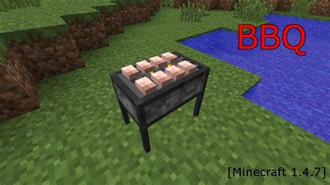 Backyard Bbq Ideas Minecraft Mod紹介 Bbq まいんくらふとにっき